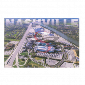 Nashville Postcard Pack- Music Vally Ariel Day