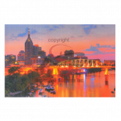 Nashville Postcard Pack- Night Riverfront Celebration