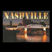 Nashville Postcard Pack- Night Pedestrian Bridge