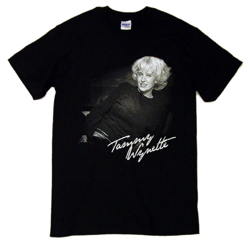 Tammy Wynette Black Tee