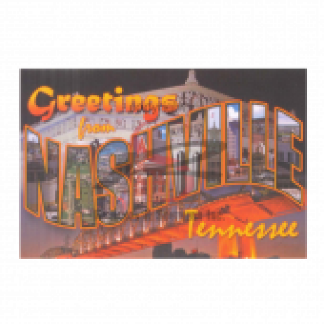 Nashville Postcard Pack- Greetings
