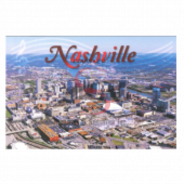 Nashville Postcard Pack- Aerial Day Gulch