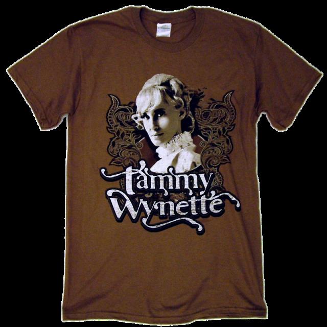 Tammy Wynette Chestnut Brown Tee