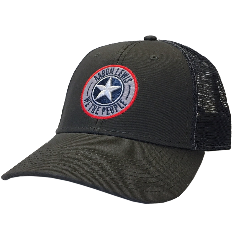 Aaron Lewis Charcoal and Navy Ballcap