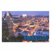 Nashville Postcard Pack- Aerial Night