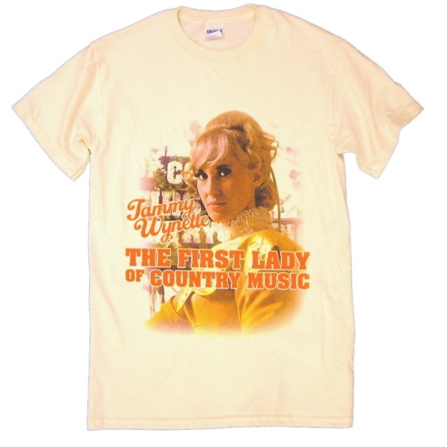 Tammy Wynette Natural Tee